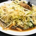 121213629 - レバー野菜炒め定食680円のメイン