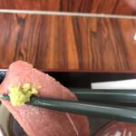徳田屋食堂 - とくだ屋丼1100円。この日のマグロはとても質が良かったです(╹◡╹)