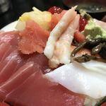 寿司富 - チラシすり切り