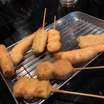 串カツ屋 真心 - アボカドやシュウマイや海苔チーズ