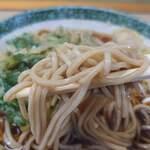 立喰そば かしやま - 料理写真:麺リフト