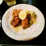 旬家 - 若鶏のカリカリステーキ♪