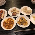 中国料理・熊猫食堂 - 取り分けて貰ったアレコレ