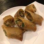 中国料理・熊猫食堂 - 揚げ春巻き
