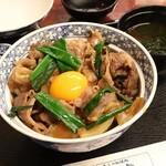 かめや - 特選松阪牛 特上牛丼。3,600円也