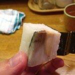 かっぱ - サバの慣れ寿司