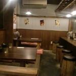 麺屋 半蔵 - 店内