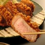 Katsuretsutei - 料理写真:お薦めの厚揚とんかつをご賞味くださいませ。