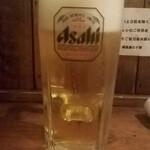 越後屋 三十郎 - 生ビール:480円