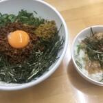 121235743 - ランチセット(黄+豚丼)