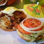 Cheeseburger In Paradise - 料理写真: