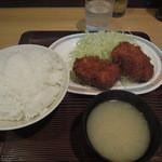 キッチンオトボケ - カニコロッケ定食