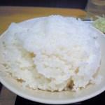 キッチンオトボケ - ご飯(普通盛りですが普通の人には多い!)