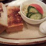 ルフラン - トーストセット 650円