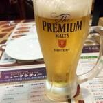 ニューサラティー - 生ビール299円