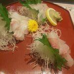 海鮮処寿し常 - 地魚刺身盛り