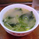 孟渓苑 - スープ