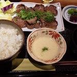 Onegiya - 牛たんねぎ塩定食980円