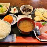 鹿野 - 料理写真:おまかせ定食 825円税込