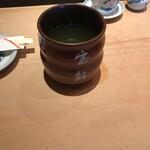 宝鮨 - お茶