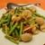 茉莉-JASMINE- <北京料理> - 料理写真:(2019/9月)イカとニンニクの芽炒め
