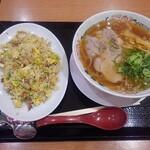 麺屋通り - 醤油ラーメン・チャーハンセット
