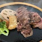 やっぱり肉が好き - 赤身ステーキ220g1400円税別