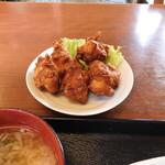 たかお食堂 - 料理写真:鶏のから揚げ(単品)