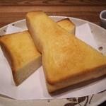 珈琲家あのころ - バタートースト(ジャム付き)