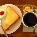 ニーニーキュウ - ブレンドコーヒー&モーニング \380