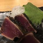 藁焼き鰹たたき明神丸 - タタキ塩