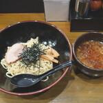 六伍郎 - 鬼煮干しつけ麺(醤油)並 820円