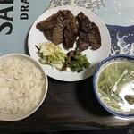 牛たんの店一休 - 料理写真:牛タン定食 1550円