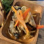 マルベリーデリカテッセンアンドカフェ - デリプレートランチ(\1,200) 鮮魚の和風エスカベッシュ