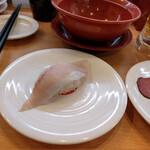 かっぱ寿司 - 活〆寒ぶりはらみ~☆