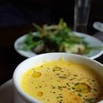 ニド・カフェ - カボチャスープ(ランチに追加)