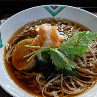 手取川 竹やぶ - 料理写真:冷やしにしんそば