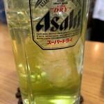 あきば - 緑茶サワー