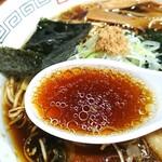 らーめん心繋 - 「生姜醤油」②