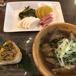 KATSUO  - 里芋とゴボウたっぷり田舎汁!