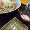 蕎麦処 滝 - 料理写真:お出汁をかけていただく前に岩塩をちょんちょんしてお蕎麦本来の味を楽しんでください