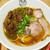 むぎくらべ - 料理写真:牛肉麺 ¥880