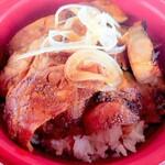 炭焼豚丼 源 - 料理写真:究極の特上ロース豚丼