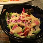 豊園 - 彩りサラダ