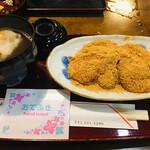 七福堂 - あべ川餅とミニぜんざいセット