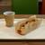 ヤオコー ベーカリー ピノ - 料理写真:ホットコーヒーと舞茸たっぷりオニオンブレッド