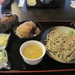 そば処裕心 - ミニカツ丼セット