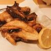 田村屋本店 - 料理写真:丸鶏の半身素揚げ