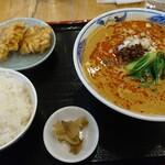 121290867 - 担々麺定食。