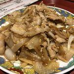 121294459 - 豚肉の生姜焼き